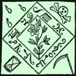 Exemplo da Concepção de um amuleto contida no livro