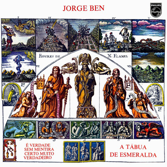 A Tábua de Esmeralda – Jorge Ben – Audioteca Hermética