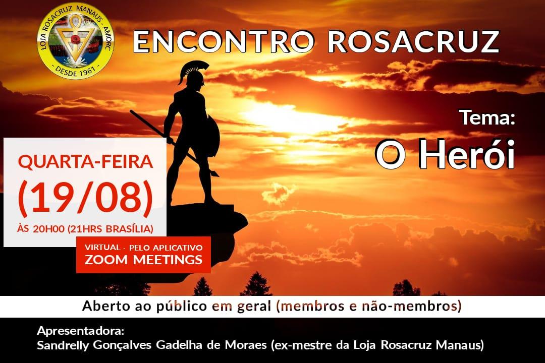 Encontro Rosacruz Online – O Herói