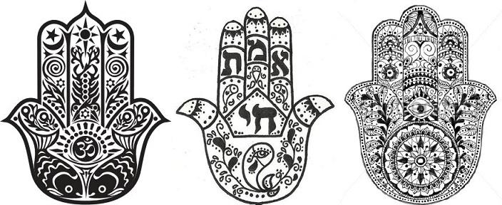 Hamsá – A Mão de Fátima